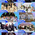 CNBLUE、SEVENTEEN、THE BOYZ、TO1、fromis_9、LOONA(今月の少女)、OH MY GIRLなど「KCON:TACT 4 U」豪華3次ラインナップ決定!