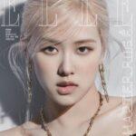 BLACKPINKロゼ 韓国雑誌ELLE 6月号を複数バージョンで飾る!