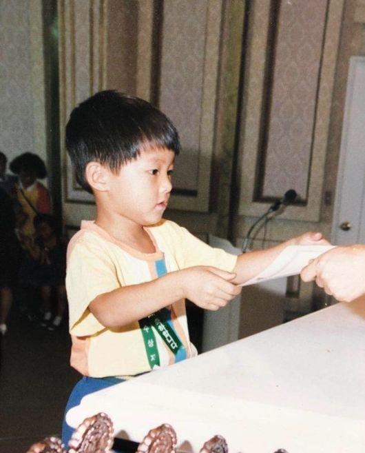 ソン・ジュンギの子供時代