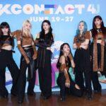 【フォト】EVERGLOW「KCON:TACT 4 U」DAY7(6月25日)写真レポート