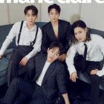 SHINee、韓国雑誌「marie claire」8月号で全員&メンバー別で表紙飾る!入隊中テミンの姿も