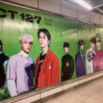 NCT 127が渋谷に上陸!9月19日までThe 3rd Album『Sticker』特大ポスター掲出中
