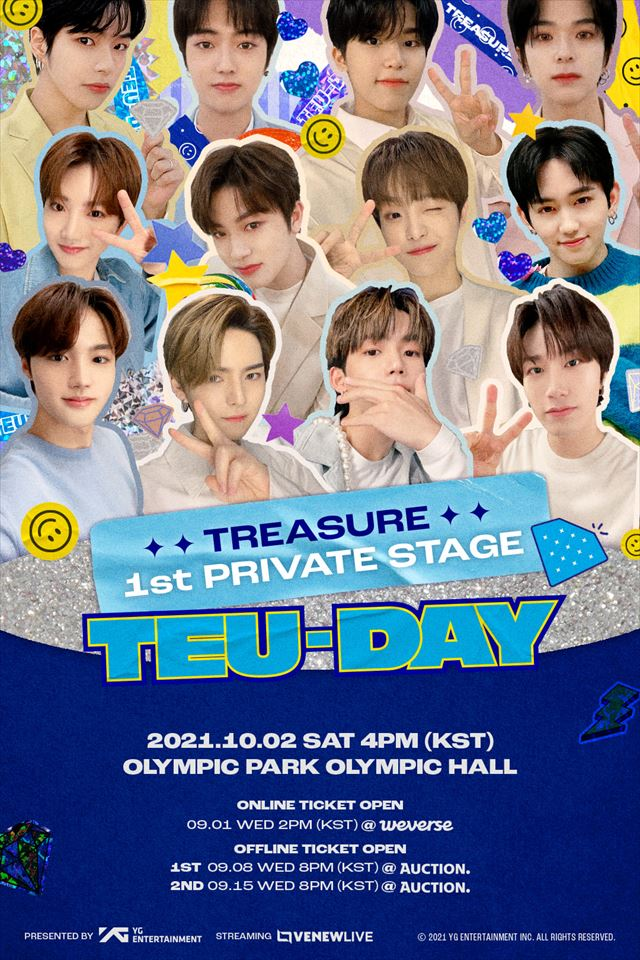 「TREASURE 1ST PRIVATE STAGE [TEU-DAY]」
